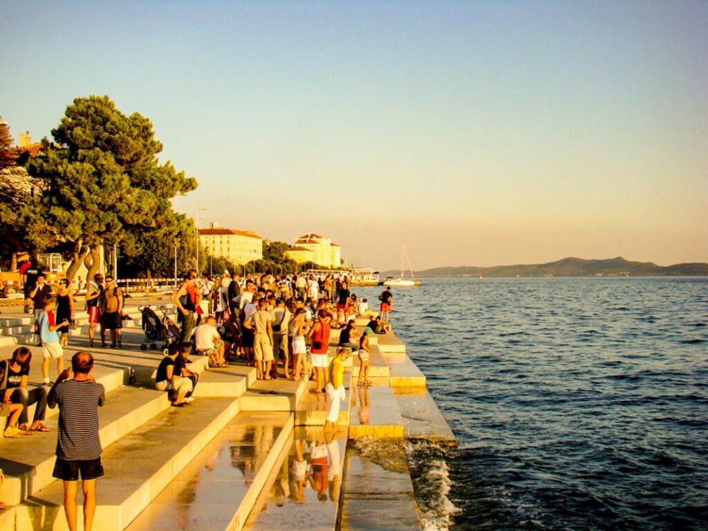 Zadar organy