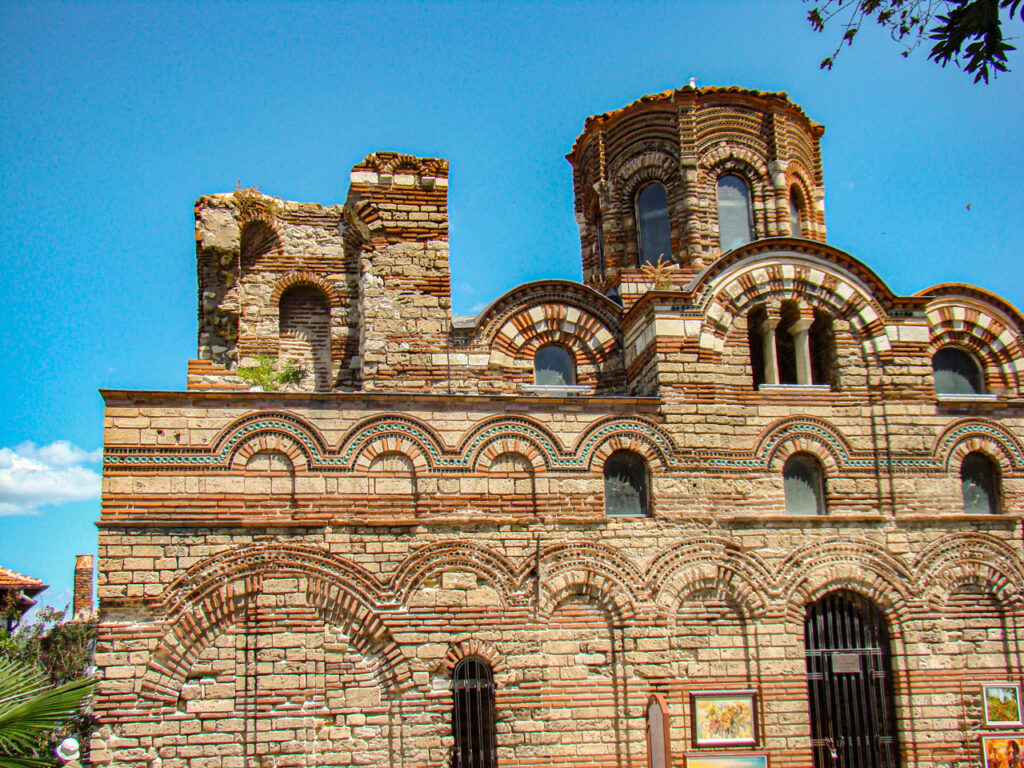 Nesebyr Bułgaria Cerkiew Chrystusa Pantokratora