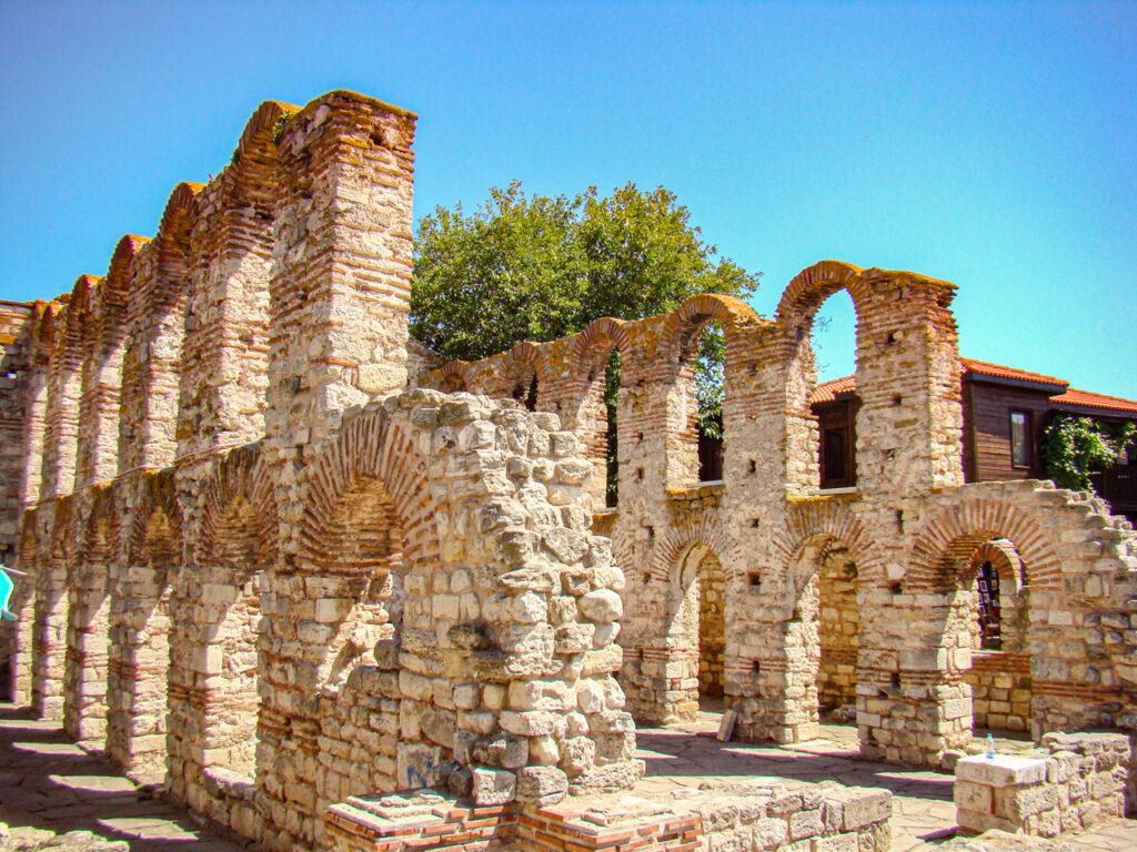 Nesebyr ruiny