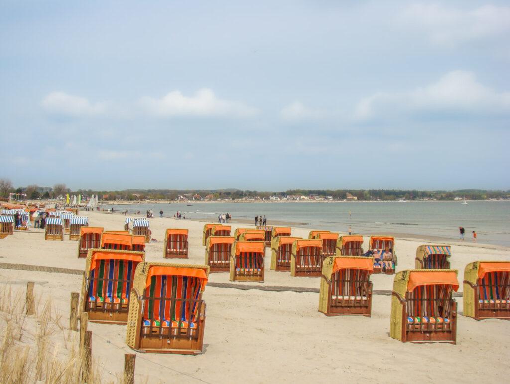 plaża Scharbeutz