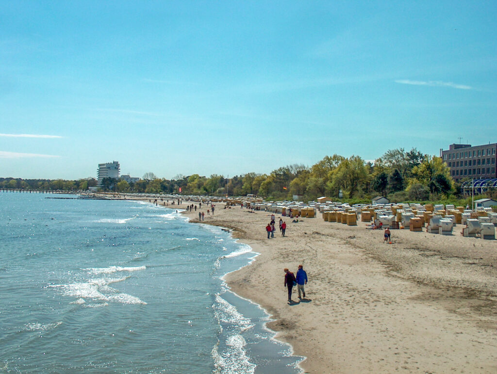 Hundestrand Timmendorfer Strand