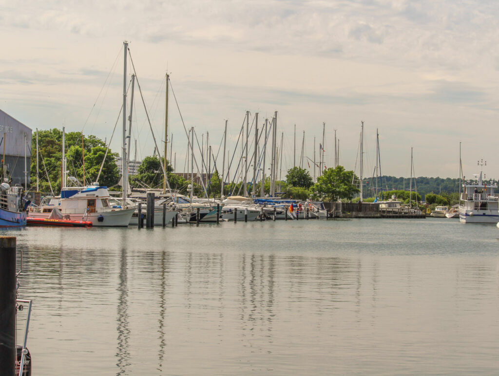Dzisiejszy port w Niendorfie