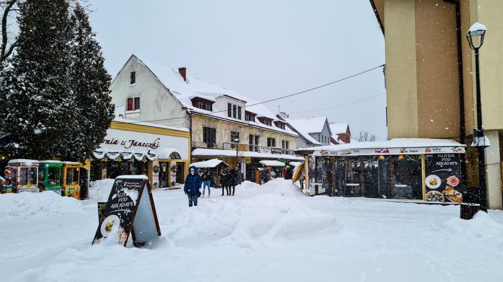 Rynek w Wiśle