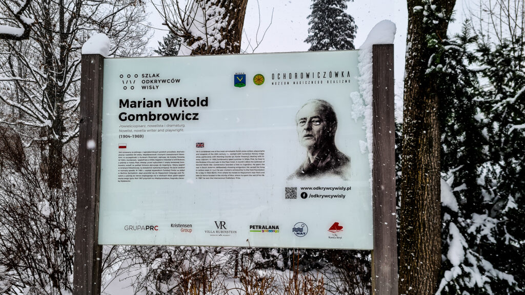 Marian Witold Gombrowicz w Wiśle