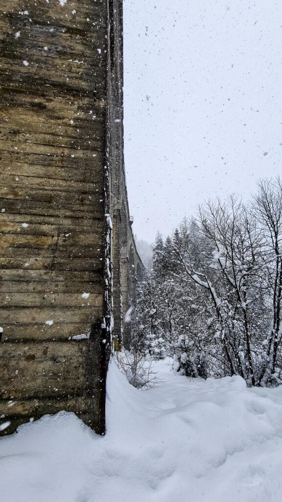 Najwyższy wiadukt kolejowy w Polsce - Wisła Głębce