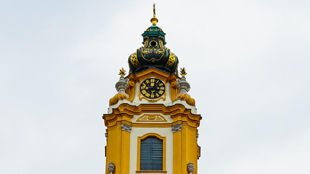 Klasztor Benedyktynów w Melk - wieża