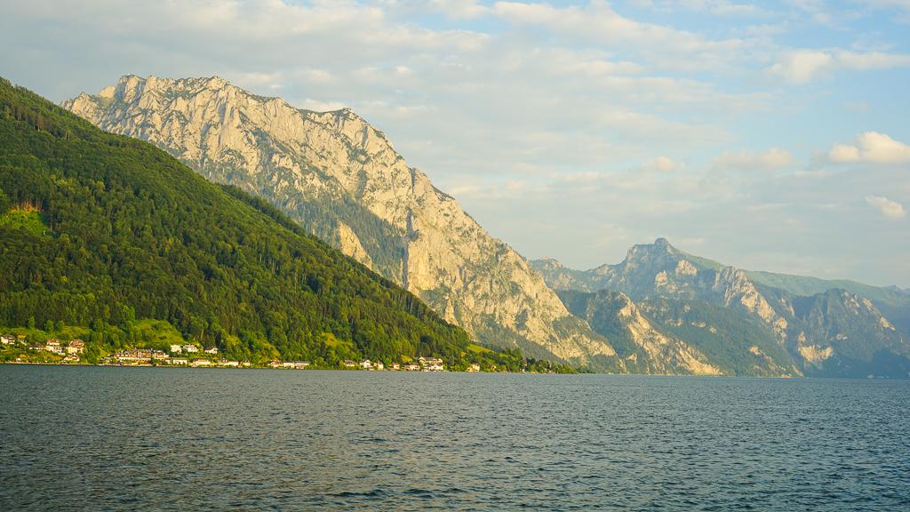 jezioro Traunsee Gmunden Austria