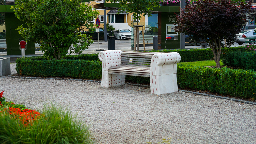 Kurpark Gmunden Austria