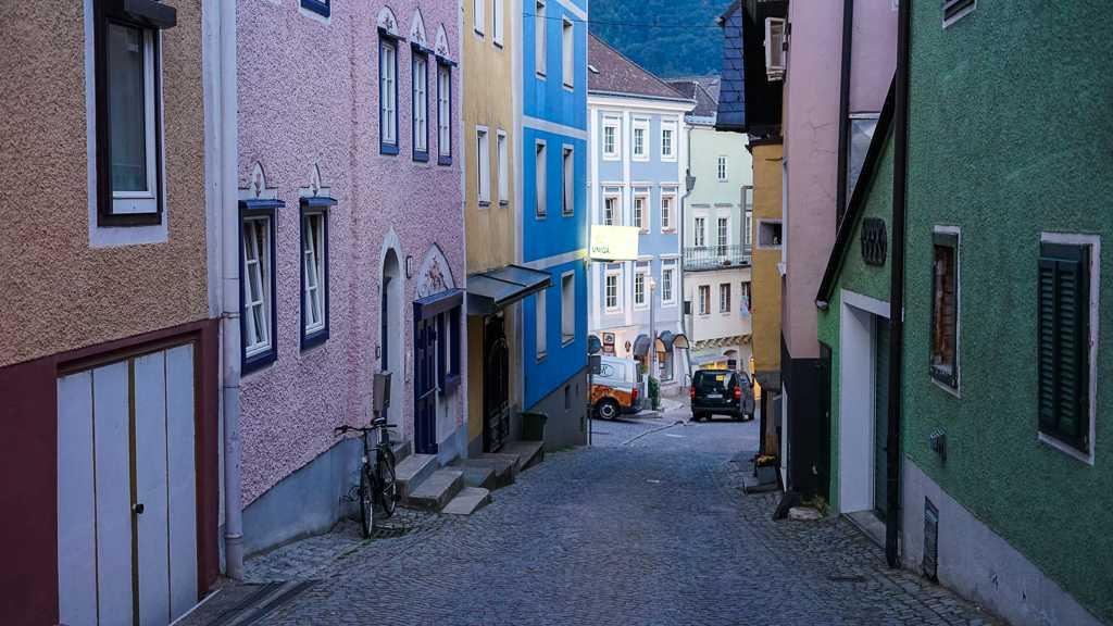 uliczki Gmunden Austria