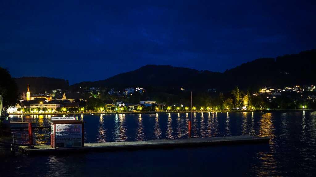 Gmunden port Austria