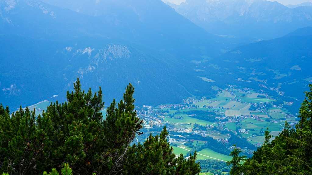 widok z Kehlstein