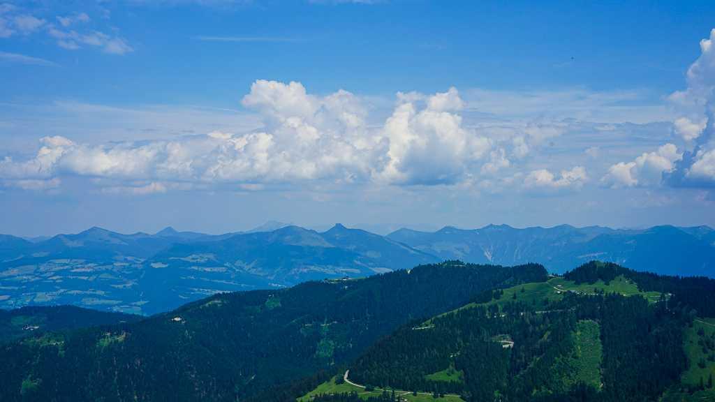 Herbaciarnia na Kehlsteinie – Orle Gniazdo – Niemcy - widok