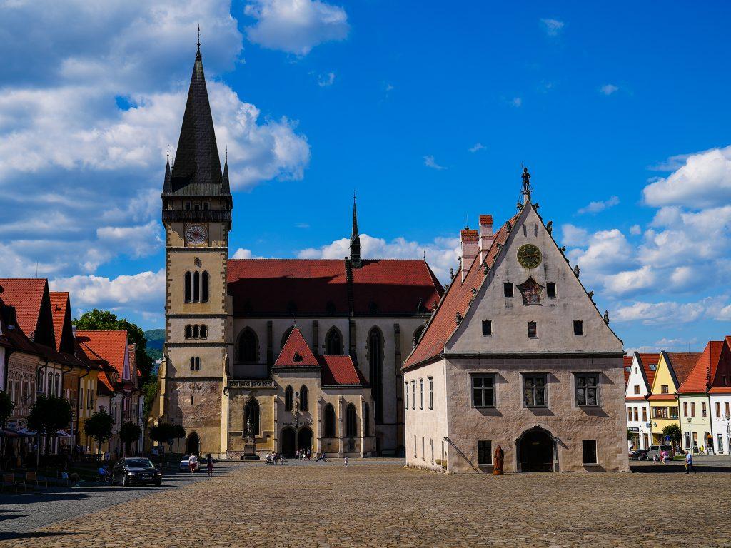 Bardejov Słowacja
