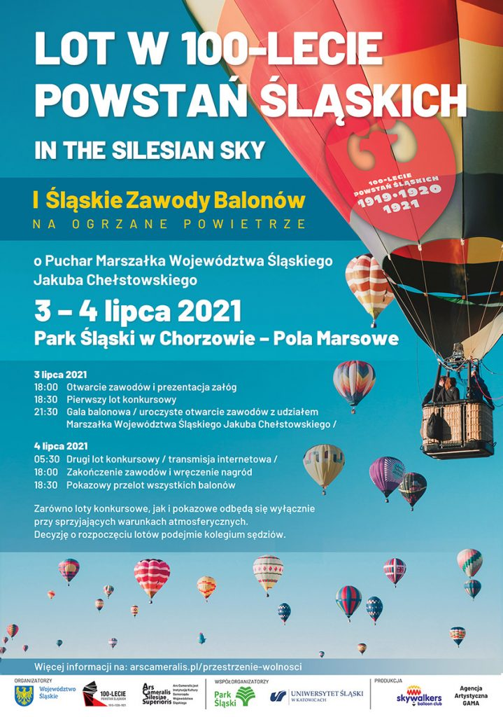 Lot w 100-lecie Powstań Śląskich